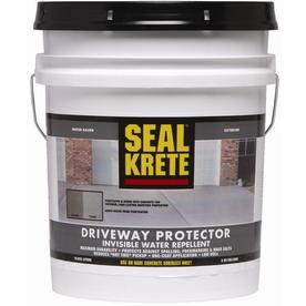 Shop Seal Krete 5 Gallon Driveway Concrete Stain Protector