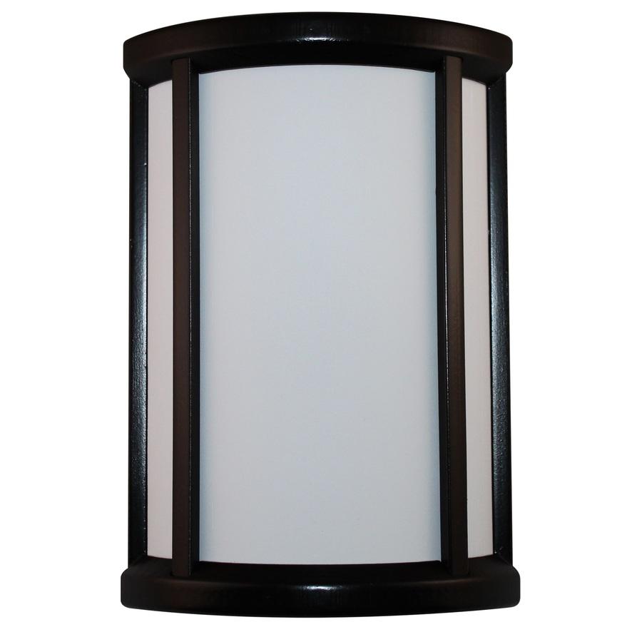 Heath Zenith Black Frame With White Insert Wireless Doorbell Kit Sl-7871-02