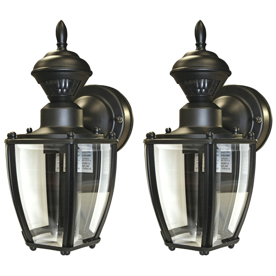 Shop Secure Home 2 Pack 11 In Black Motion Activated