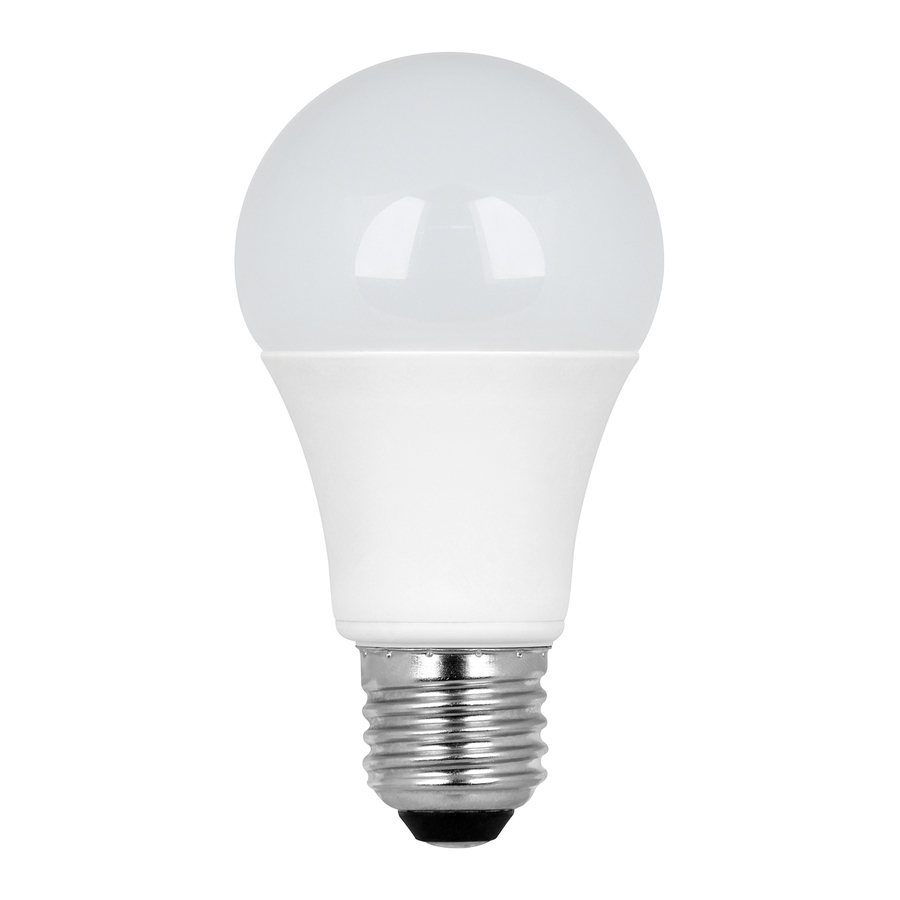 Best Led Shop Light Bulbs: Shop Utilitech 6.3-Watt (40W Equivalent) 3,000K A19 Medium