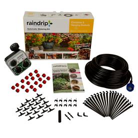 Shop Raindrip Drip Irrigation Patio Kit At Lowes Com