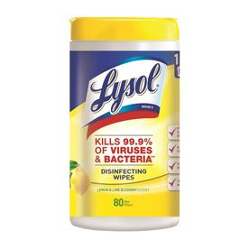 Lysol 80-Count Lemon/Lime All-Purpose Cleaner 019200771825