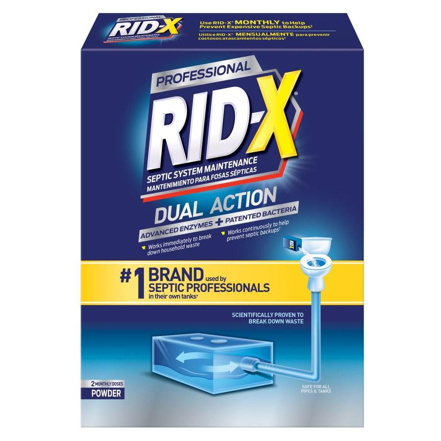 Shop Rid X 19 Oz Septic Cleaner At Lowes Com