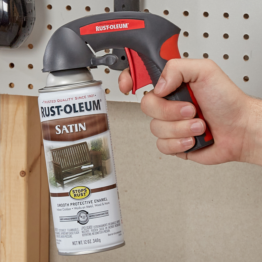 Rust Oleum Comfort Grip Universal Spray Paint Gun In The Spray Paint Guns Department At Lowes Com