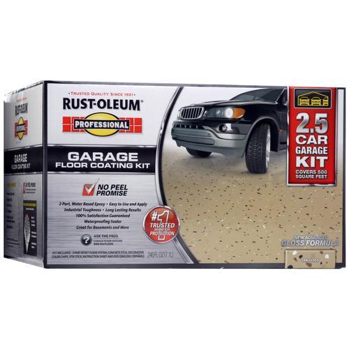 Rust-Oleum High Performance 2-Part Tan Gloss Garage Floor Epoxy Kit (Actual Net Contents: 240-fl oz) 257188