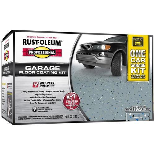 Rust-Oleum High Performance 2-Part Gray Gloss Garage Floor Epoxy Kit (Actual Net Contents: 120-fl oz) 257185