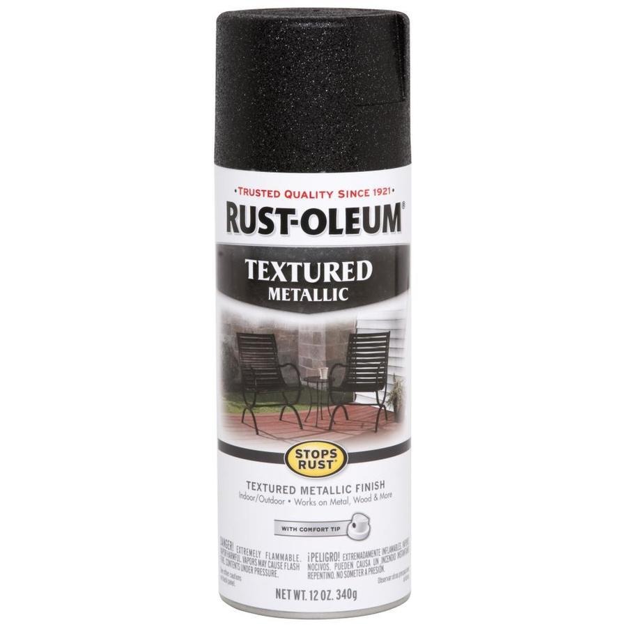 Shop Rust-Oleum Stops Rust 11-oz Black High-Gloss Spray ...
