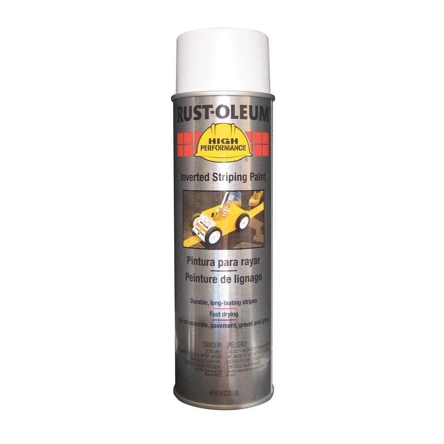 Shop Rust Oleum 18 Oz White Matte Spray Paint At Lowes Com