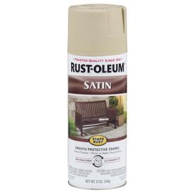 rust oleum countertop coating putty shop rust oleum 12 oz putty satin spray paint at lowes 762