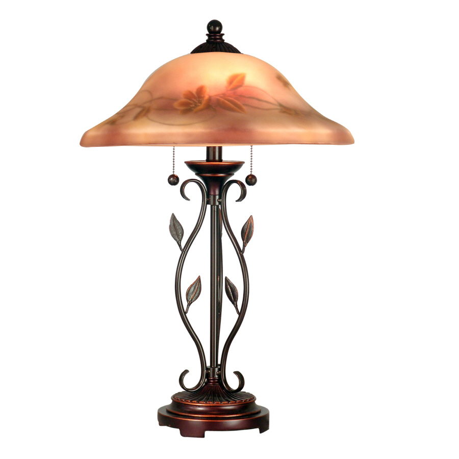 Lowes Table Lamps: Shop Portfolio 26-in Transitional Indoor Table Lamp With