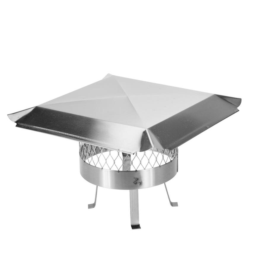Shop Shelter 12 In Stainless Steel Chimney Cap At Lowes Com