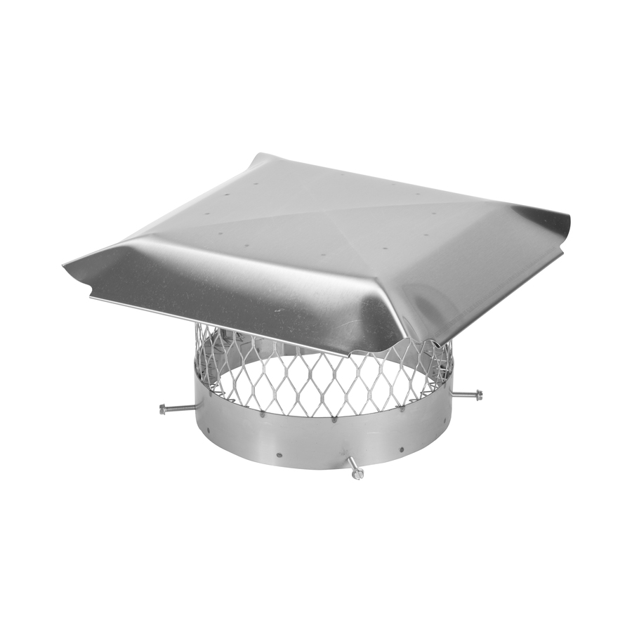 Shop Shelter 10 In Round Stainless Steel Chimney Cap At