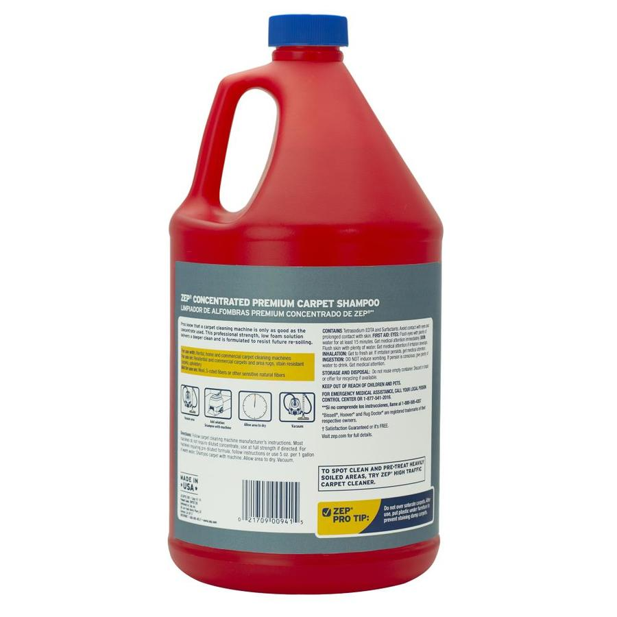 Zep Premium Carpet Shampoo Concentrate 128 Oz Carpet Cleaning Solution In The Carpet Cleaning Solution Department At Lowes Com