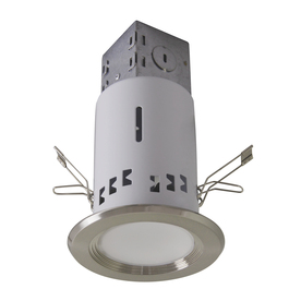 Lowe S Utilitech Pro Brushed Nickel 3 In Integrated Led