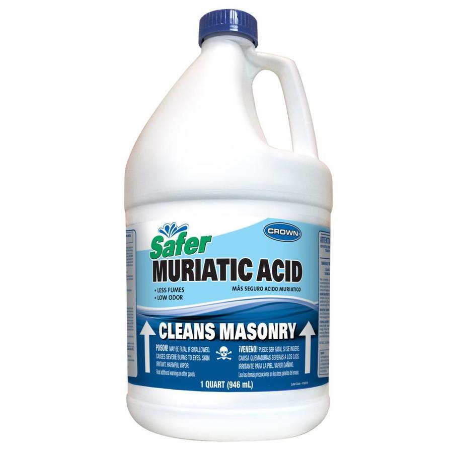 Shop Crown 1 Gallon Muriatic Acid At Lowes Com
