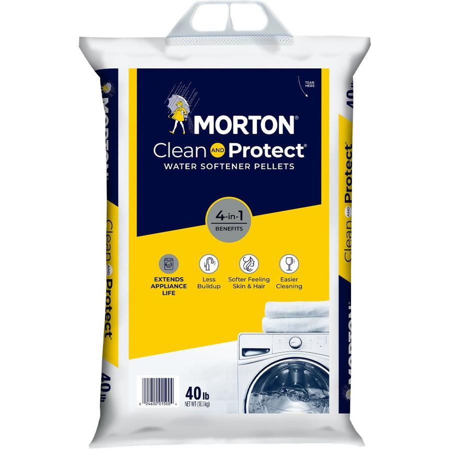 Shop Morton 40 Lb Salt Pellets At Lowes Com