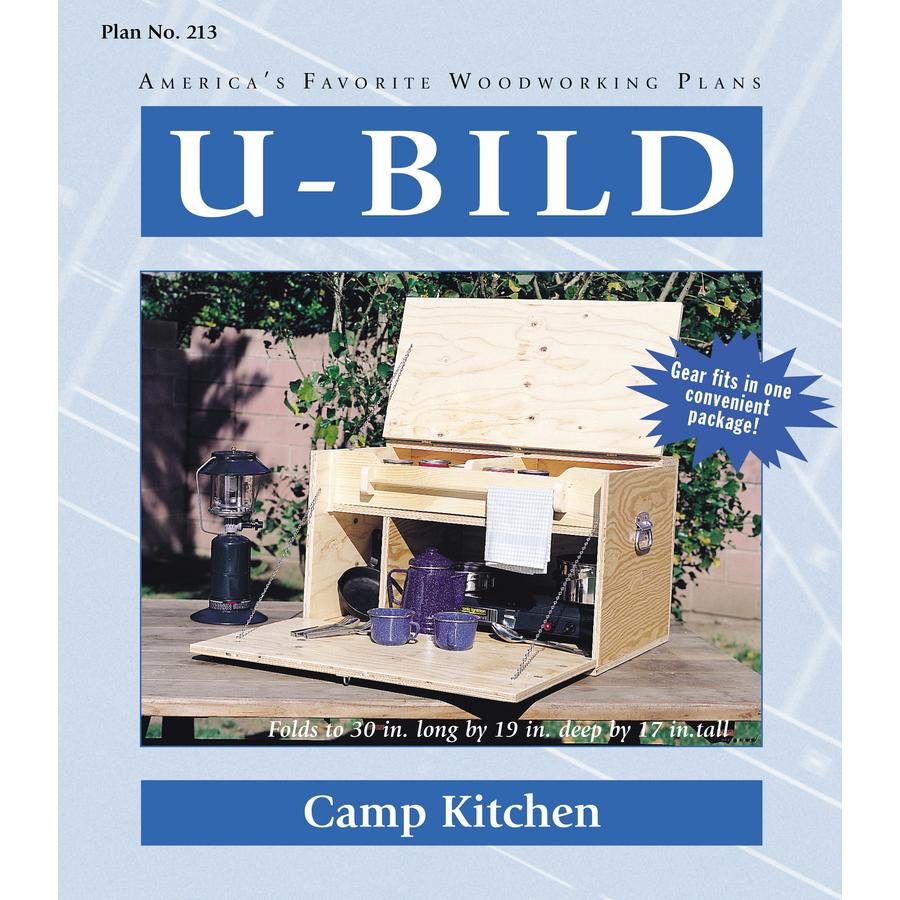 Shop U-Bild Camp Kitchen Woodworking Plan at Lowes.com