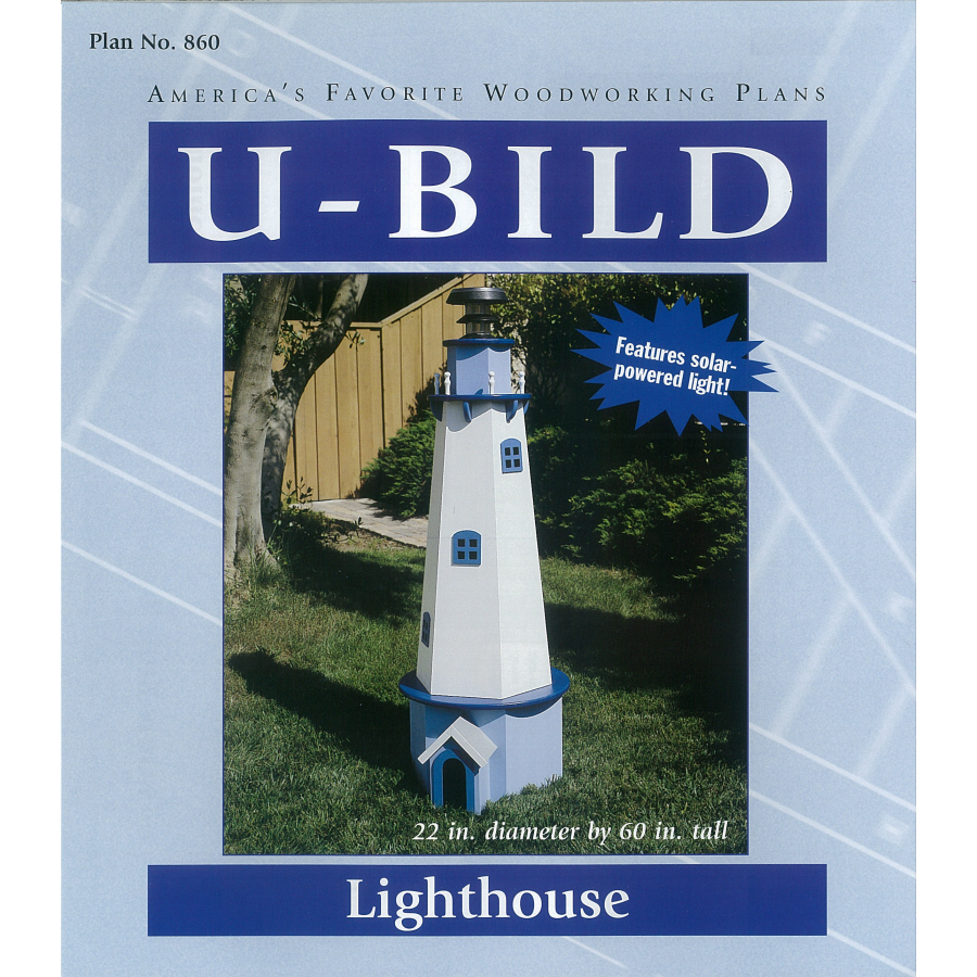 Shop U-Bild Lighthouse Woodworking Plan at Lowes.com