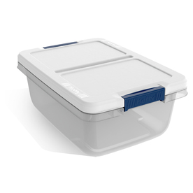 Display Product Reviews For 3.75 Gallon Clear Tote With Latching Lid