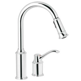 Perfect Display Product Reviews For Aberdeen Chrome 1 Handle Pull Down Kitchen  Faucet Nice Ideas