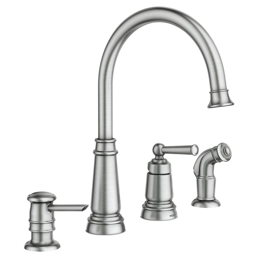 Moen High Arc Kitchen Faucet Cold Water Slow