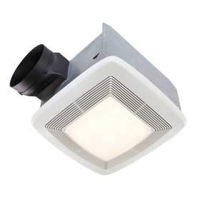 Broan 0.3-Sone 80-Cfm White Bathroom Fan Energy Star Qtxe...
