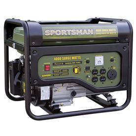Sportsman Gasoline 3500-Running-Watt Gasoline Portable Generator Gen4000lpc