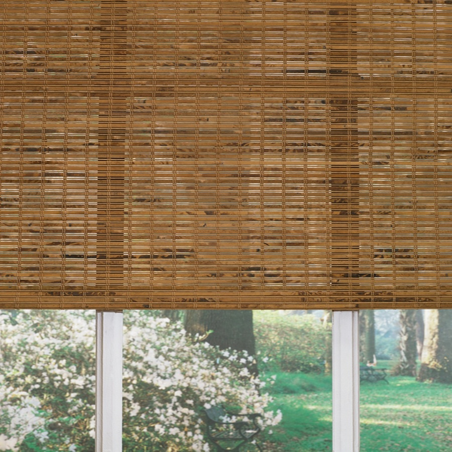 Shop Levolor 60 In L Origami Light Filtering Woven Wood