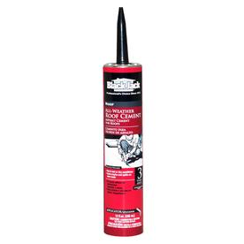 Shop Black Jack 10 Fl Oz Waterproof Cement Roof Sealant At