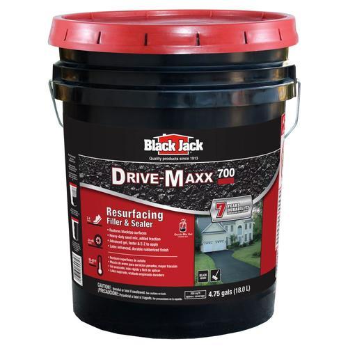 Lowes Black Jack Blacktop Gel Asphalt Driveway Sealer