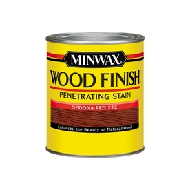 Display Product Reviews For Wood Finish Sedona Red Oil Based Interior Stain Actual Net