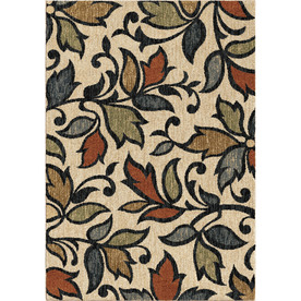 Display Product Reviews For Leaves Akimbo Multi Rectangular Indoor  Machine Made Nature Area Rug (