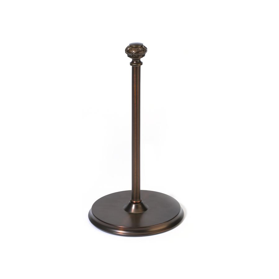 ... Selections Bronze Metal Freestanding Paper Towel Holder at Lowes.com