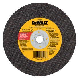 Dewalt Cutoff Wheels Upc Amp Barcode Upcitemdb Com