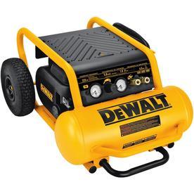 DeWALT 4.5-Gallon Portable Electric Horizontal Air Compre...