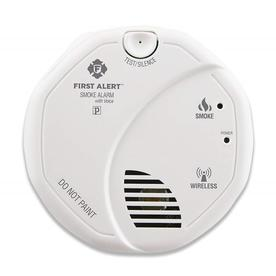 First Alert Wireless Interconnect Battery-Powered 3-Volt Photoelectric Sensor Smoke Detector 1039826-Sa511cn-6