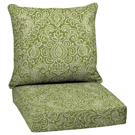 Elegant Display Product Reviews For Green Stencil Glenlee Damask Deep Seat Patio  Chair Cushion For Deep Seat