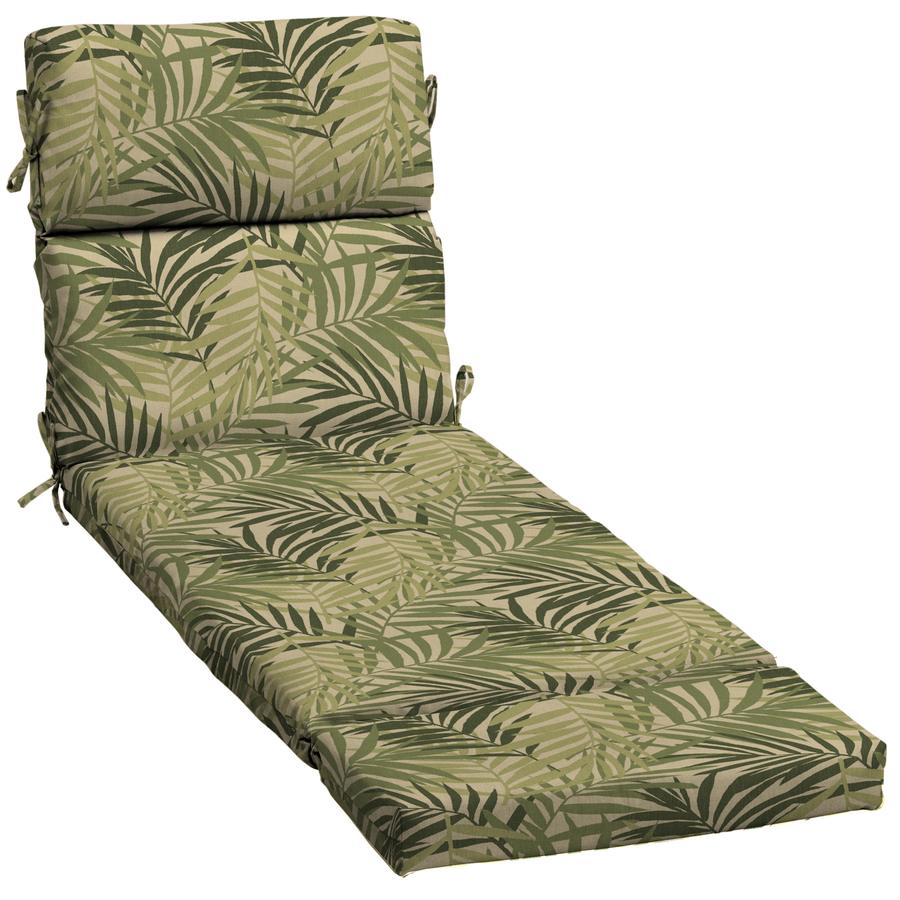 Shop Garden Treasures North Palm Leaf Patio Chaise Lounge