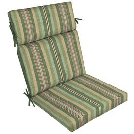 Blue And White Striped Chaise Lounge Cushions Of Allen Roth Multi Eucalyptus Multi Eucalyptus Stripe