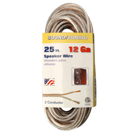 Speaker Cable Lowes : shop coleman cable 25 ft 12 awg flat speaker wire by the roll at ~ Russianpoet.info Haus und Dekorationen