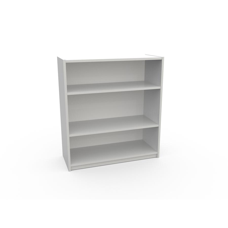 White Bookshelves: Shop Ameriwood 3 Shelf Bookcase