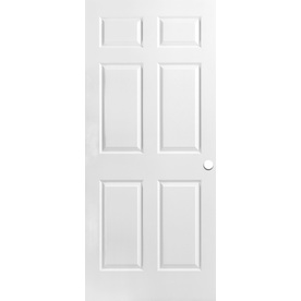 Shop Reliabilt Hollow Core 6 Panel Slab Interior Door