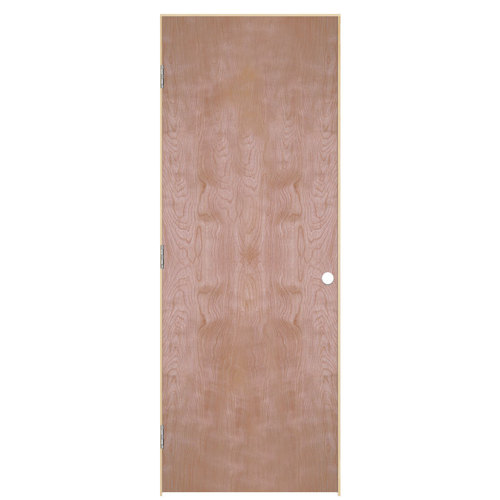 Reliabilt Unfinished Hollow Core Veneer Birch Single Pre Hung Door