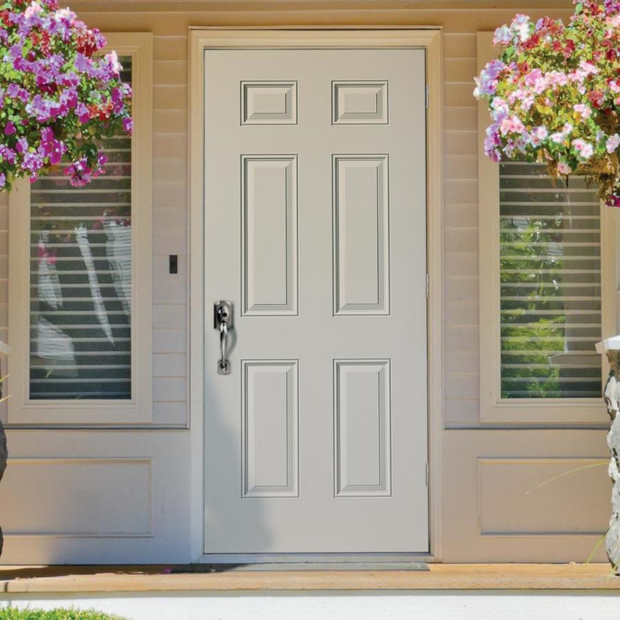 Lowes Exterior Doors Outswing – Mmi door's exterior doors allow you to personalize your entryway.