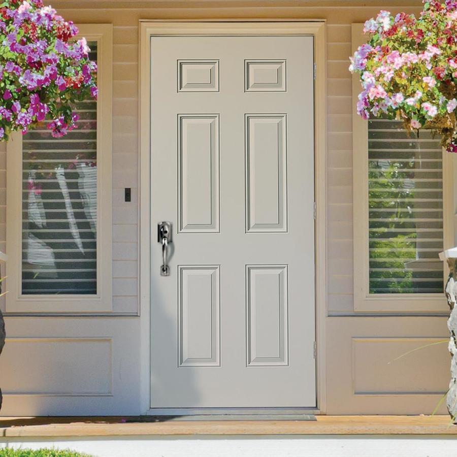 Lowes Exterior Doors Outswing – Mmi door's exterior doors allow you to personalize your entryway.
