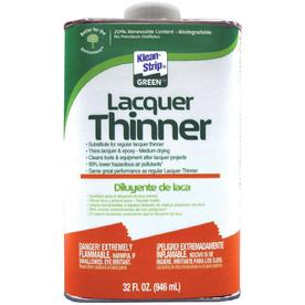 Shop Klean Strip Quart Lacquer Thinner At Lowes Com