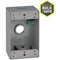 Gampak 1-Gang Aluminum Electrical Box