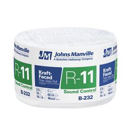 Johns Manville R11 88.12-Sq Ft Single Faced Fiberglass Ro...
