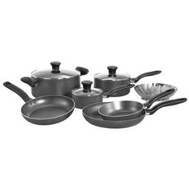 WearEver T-Fal 10-Piece Initiatives Aluminum Cookware Set...