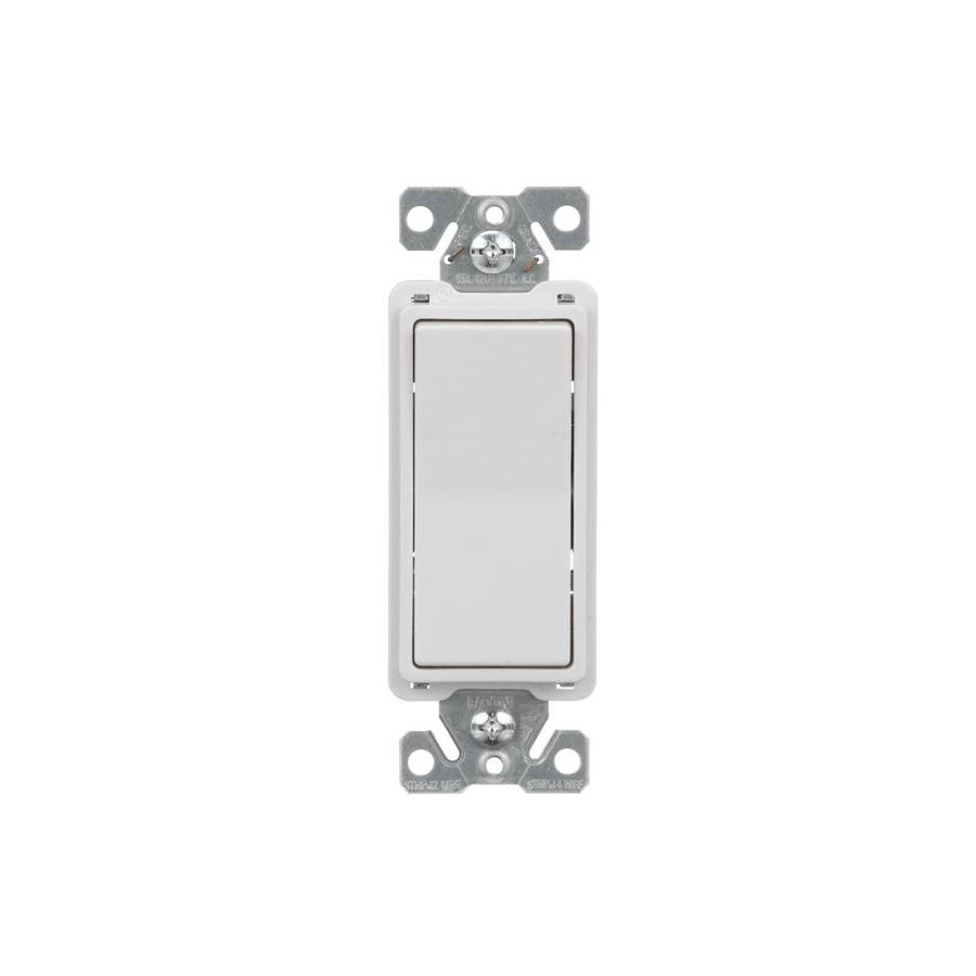 shop cooper wiring devices 15-amp white 4-way decorator ... cooper decorator switch wiring diagram wiring cooper receptacle switch wiring diagram